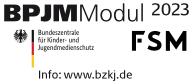 Logo Bundesprüfstelle jugendgefährdende Medien