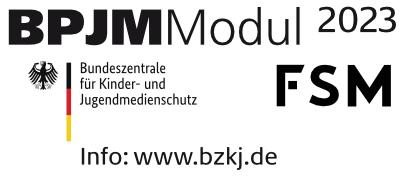 Logo Bundesprüfstelle jugendgefährdender Medien