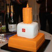 eBlocker birthday cake